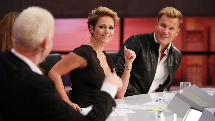 H.P. Baxxter, Michelle and Dieter Bohlen in Deutschland sucht den Superstar