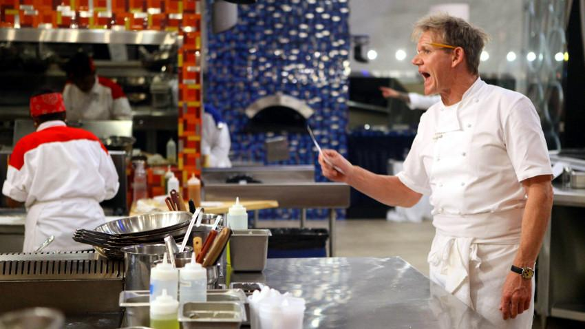 Gordon Ramsay in Hell's Kitchen
