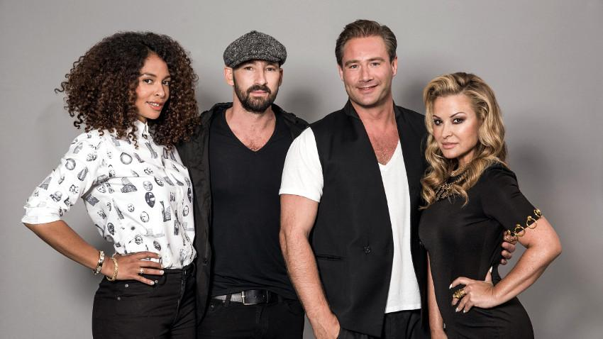 Joy Denalane, Gentleman, Sasha and Anastacia in German Rising Star