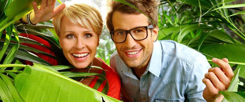 Sonja Zietlow and Daniel Hartwich in Ich bin ein Star - Holt mich hier raus!