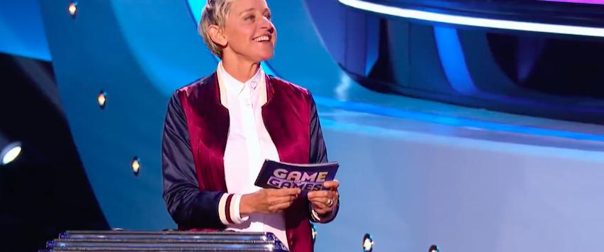 Ellen DeGeneres in Ellen's Game of Games, NBC