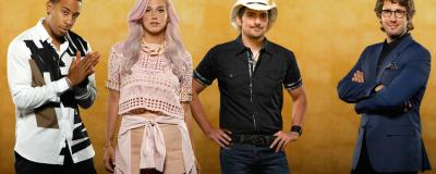 Josh Groban, Brad Paisley, Kesha and Ludacris in Rising Star